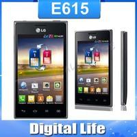 "LG E615 Optimus L5 original mobile phones 4.0"" capacitive touch screen Dual SIM  WIFI 3G Smart unlocked phone"