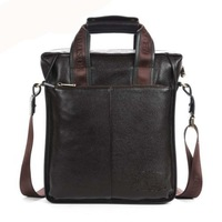 Bostanten Shoulder Bag Business Casual Fashion Men Bag Cowhide Messenger Bag