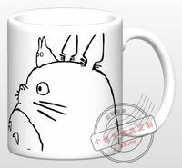 Ghibli Cup Anime cups Hayao Miyazaki cups Totoro discoloration mug water cup gift  Free shipping