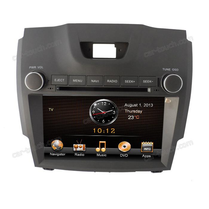 2 din dual dvd player car gps navigation car bluetooth for Chevrolet Colorado(China (Mainland))