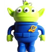 Sale Cartoon Toy Story Alien Flash Memory Stick Pen Drive 4GB/8GB/16GB/32GB
