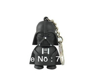 New Star Wars Darth Vader luminous voice keychain Dark Warrior vader LED keychain Hollywood Gifts Free Shipping