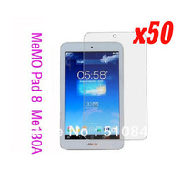 50pcs Screen Protector For ASUS memo pad hd 8 ME180A Protective Films free shipping