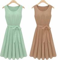2013 spring women's ladies elegant fashion vintage pressure pleated slim one-piece dress 3176 brief