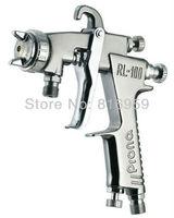 Freeshipping Prona  low pressure paiint spray gun RL-100 P for car furniture wood metal 1.2 1.0 0.8 mm nozzle