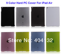 100PCS Mixcolor Hard PC Cover Protective Shell Skin Case For Apple iPad Air Cover