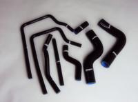 Free Shipping Impreza WRX STi GC8 96-00 Silicone Radiator Coolant Heater Hose Kit 8pcs Black No. 1018_8