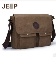 Free delivery new retro canvas shoulder bag leisure bag man bag Messenger bag