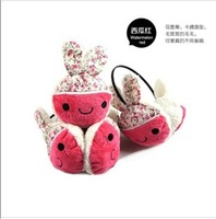 2013 cotton prints rabbit earmuffs cartoon plush earmuffs thermal winter ear warmer free shipping