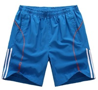 Free shipping Men's sports running shorts , tennis fitness shorts  H NK2V50