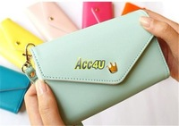 High Quality Mini Handbag Wallet Pouch Bag Case for iphone 5c Crown Smart Envelope Case With Card Holster 10pcs