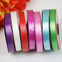 Multicolour Plastic Ribbon for House Decoration 1.3cm*25yard/roll, 20 rolls/lot