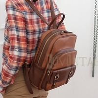 The New Trend Of The Vintage Pony Chocolate Student Backpack Travel Bag Fashion Bag Female Line MT-154