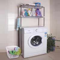 free shipping Multifunctional bathroom washing machine shelf storage shelf washing machine frame stainless steel sundries rack