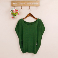 Fashion all-match 2013 autumn sweater pullover loose plus size bat sweater