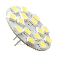 10pcs/lot G4 Reading Light 2.5W 270-Lumen 15 SMD 5050 LED White Warm White Bulb Lamp Vertical Pins 12V AC Free shipping