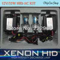 20set/Lot 55W Car Xenon HID H1 H3 H7 H8 H11 9005 9006 D2S 880 55W single bulb 55W slim ballast Freeshipping