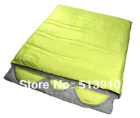 Upgrade family pattern!envelope style 3seasons sleeping bag with pillows