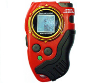 Digimon Digivice D-Scanner 1.0 Ver Black/Red Color Mint Condition