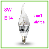 5pcs/lot  15W dimmable 220V  silver gold shell  Warm E14 fire lamp cap LED lamp  candle light  , spotlight for home light