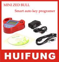 2013 NEW Mini Zed Bull with OBD 22 key programmer transponder smart zedbull min no login and tokens free shipping