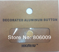 5S Style Aluminum Alloy Metal Home Button Sticker For iPhone iPod Touch Ipad with Retail Package, Free Shipping by DHL EMS