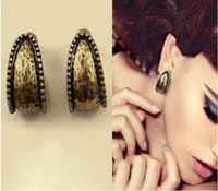 Min order $15.0(can mix order )Free shipping New arrival 2013 accessories fashion individuality brief fashion stud earring