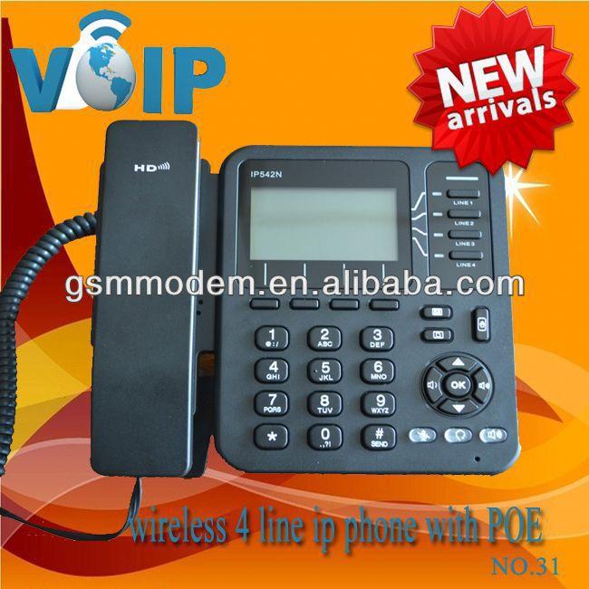 TYH RJ45 4 Line Cheap Wifi Phone Free Tech Support(China (Mainland))