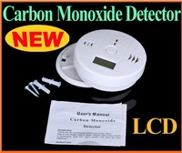 Home Security Safety CO Gas Carbon Monoxide Alarm Detector CE/Rohs/EN50291 Approved with retail box