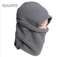 "Hot sale! ""Qixuan"" winter thermal fleece windproof outdoor cap. Neck protection skiing hat. Bicycle racing cap. Free shipping."
