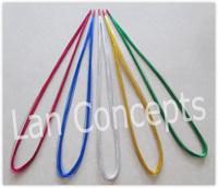 Free shipping 24# Iron Wire Silk Flower Accessory for DIY Nylon Mesh Stocking Flowers - 300pcs/lot LFA0013