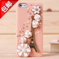 For apple   iphone5 rhinestone phone case shell apple 5 diamond mobile phone protective case