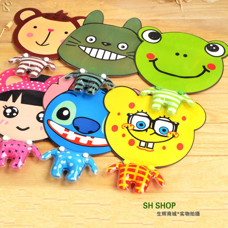 Shining cartoon wrist support mouse pad pvc mouse pad mouse pad wrist support cooler bag(China (Mainland))