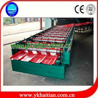 Flat Sheet Roof Tile Forming Machine