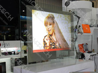 fast shipping of RichTech's transparent 360 projection screen make your products present more vividly