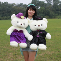 Wedding gifts wedding bear marry lovers plush toys filmsize doll a pair of