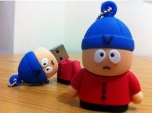Stan FenChang the south park cartoon usb flash drive 4GB 8GB 16GB 32GB High quality Free shipping(China (Mainland))