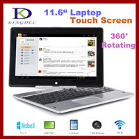 2014 New 360 Degree Rotating Laptop, Intel Celeron Dual Core, 4GB RAM+500GB HDD, Touch Screen, Windows 8, Bluetooth