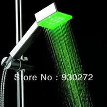 led hand shower promotion