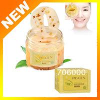 2013 New PILATEN Gold Osmanthus Fresh Petals Eye Mask Moisturizing ,Anti-wrinkles,Eliminate Eye Bags 60pcs/Bottle