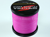 PE Dyneema Braided Fishing Line 500M Pink 40LB 0.32mm 547 Yard Spectra Braid