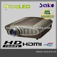Free shipping Hot Sake S900 Full Hd 3D LCD Home theater Projector native 1280*800 150w led power 3800lumens