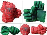 Free shipping  super spider man the hulks boxing Gloves child superman for children gift  for boys