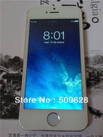New SALE !!  i5S 5G 1:1 Single Sim MTK6572 dual core android 4.2 smart phone 4GB ROM Black White Gold  logo available 8G 16G