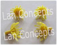 Free shipping Plastic Plum Blossom Stamen Pistil for DIY ronde flower - 300pcs/lot LFA0020
