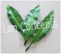 Free shipping Artificial Tulip Leave for DIY ronde flower decoration - 200pcs/lot LFA0024
