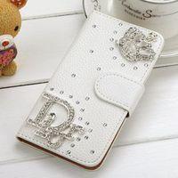 New arrival 3D rhinestone case for samsung galaxy Win I8552 cute design free shipping