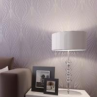 Wallpaper non-woven wallpaper pearlizing three-dimensional flock printing background wallpaper romantic luxury