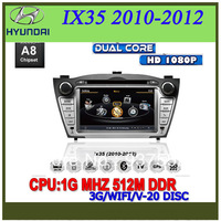 A8 Chipset S100 platform radio tape recorder for Hyundai IX35 2010-2012 gps player Multi-language menu