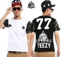 UniSex Pyrex 23 YEEZY 77 Heybig West Kanye Tee T Shirt Hip Hop Black White Trill Sports Tee Gift